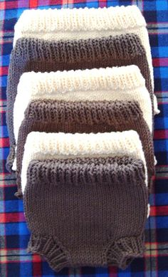 6 Handknit Diaper Covers/Soakers In Various by LaughingCrowKnits, $63.35