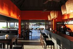 Taïno restaurant - Bar area