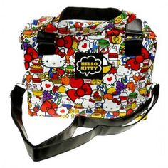 5bd0235ffdd Bandolera Hello Kitty Fun Pattern Hello Kitty Shoulder Bag.... Special!!!