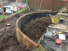 raised beds sleepers - Google Search
