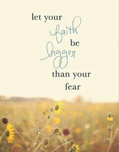 No fear Wall Art, Sunflowers Quotes, Inspirational Quote, Inspiration Wall Quotes, Inspiring Quote, Have Faith Tattoo, S...