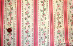 vintage ticking fabric