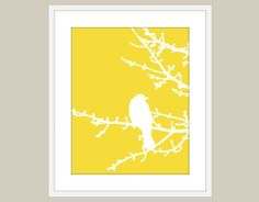 Different colors!  Hey, I found this really awesome Etsy listing at https://www.etsy.com/listing/87945383/spring-bird-on-tree-digital-print-yellow