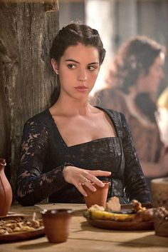 """Reign -- """"Three Queens"""" -- Image Number: -- Pictured: Adelaide Kane as Mary, Queen of Scotland and France -- Photo: Christos Kalohoridis/The CW -- © 2014 The CW Network, LLC. All rights reserved. Adelaide Kane, Story Inspiration, Character Inspiration, Writing Inspiration, Reign Season 2, Marie Stuart, Reign Tv Show, Reign Dresses, Reign Fashion"""