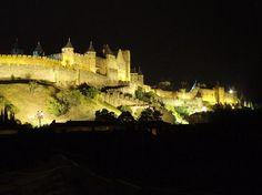 chateau de carcassonne - south of france
