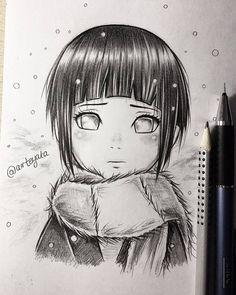 ✔ Anime Dibujos A Lapiz Naruto Anime Naruto, Art Naruto, Naruto Drawings, Anime Drawings Sketches, Naruto Girls, Naruto Shippuden Sasuke, Anime Sketch, Manga Drawing, Manga Art