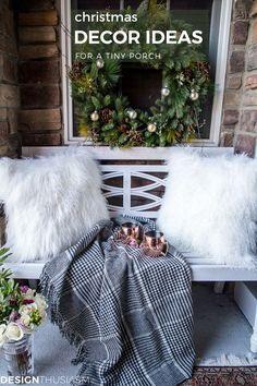 Tiny Christmas Porch