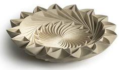 Ceramic piece by Halima Cassell