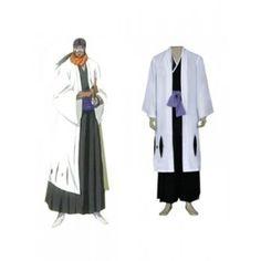 Bleach Captain Tousen Kaname 9th Division Cosplay Costume