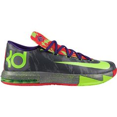 KD VI Basketball Shoe - Mens Reg: $129.95 Sale: $64.95 You Save: $65.00 (50% off) The KD VI Men's Basketball Shoe was built with a new, responsive Nike Zoom unit, a more supportive upper and a lower-cut silhouette for better flex through the ankle-resulting in KD's lightest shoe to date.