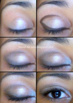Make up tutorial by Lunargent Karu  mood-de-luna.blogspot.com