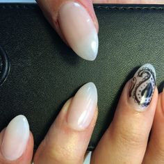 short almond nails - Google Search
