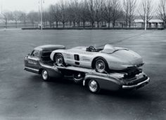 Mercedes race car transport