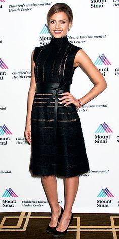 Jessica Alba in Fendi (2013 Champion For Children Award gala)