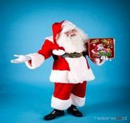 Children's Entertainment Idea. Our Santa is Great for Children's events. Available for hire in London in the UK.