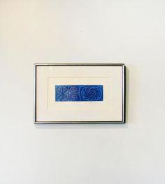 Mid Century Rina Rotholz Print Medusa Framed