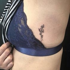 Floral tattoo delicate top design ideas 69