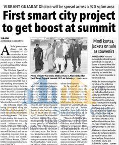 First Smart City Project To Get Boost At Summit #Dholera #DholeraSIR #DholeraSmartCity #Gujarat