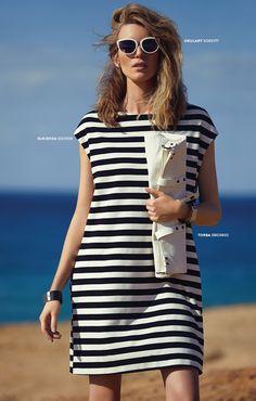 Letnia #sukienka w paski #topsecret