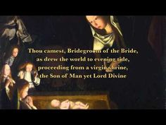 Conditor Alme Siderum (Creator of the Stars of Night) - YouTube. Traditional Advent hymn to introduce the Advent season. This version has both the latin and english verses so is great to use as a family hymn.