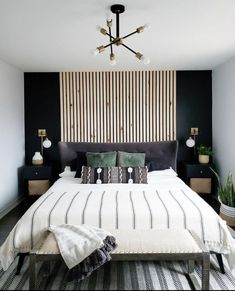 Room Ideas Bedroom, Home Decor Bedroom, Black Bedroom Decor, Bedroom Boys, Bedroom Decor Elegant, Bedroom Designs, Target Bedroom Furniture, Master Bedroom Decorating Ideas, Cool Bedroom Ideas