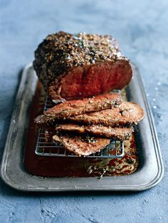 The Best Oven-Roasted Meat Recipes Mustard Roast Beef Roast Meat Recipe, Roast Beef Recipes, Meat Recipes, Cooking Recipes, Recipies, Cooking Tips, Boneless Rib Roast Recipe, Roast Beef Seasoning, Slow Cooking