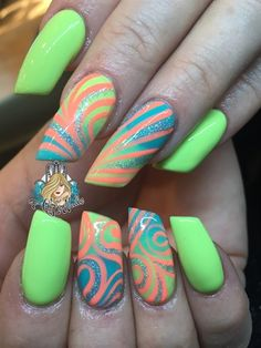Spring  by AlysNails from Nail Art Gallery