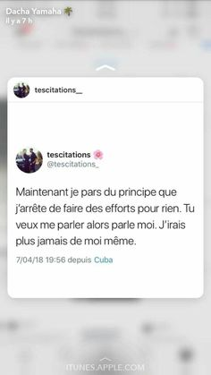 Citations Snapchat, Me Quotes, Motivational Quotes, French Quotes, Bad Mood, Love Words, Sentences, Lol, Facts