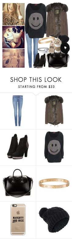 """""""girls day"""" by ally-xcv ❤ liked on Polyvore featuring Rosa Cha, 7 For All Mankind, Mr & Mrs Italy, Givenchy, Cartier, 18 KT, Casetify, Accessorize and Wyatt"""