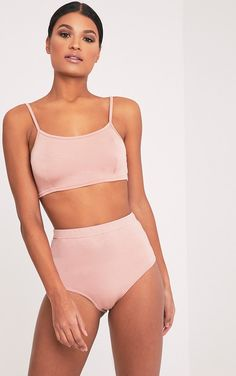 Nude Bralet & Knicker Co-ord Dare to bare with our exclusive bralet & knicker co-ord.Versatility...