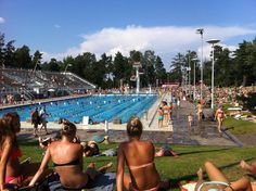 Uimastadion - open air swimming pool in #helsinki #stadikka open from May to September
