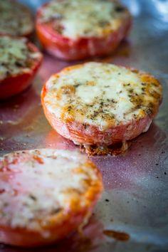 Cheddar Roasted Tomatoes | #4ingredients #glutenfree on healthyseasonalrecipes.com