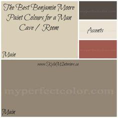 Paint Colors For Men best paint colors for a man room / man cave | man room, men cave