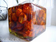 Tomates cerises séchées - Suik Suik - Vegan recipe - Recette végétalienne