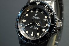 Tudor SUBMARINER DATE 79090 $4,687 #Tudor #watch #watches #chronograph steel case with steel bracelet and automatic movement