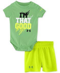 Under Armour Baby Boys' 2-Piece Bodysuit & Shorts