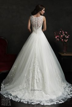 Amelia Sposa 2015 Wedding Dress Style: Elza | Heart Over Heels #bridal #designer