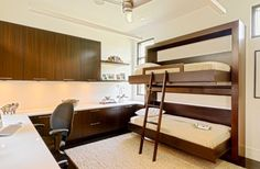 Bunk bed Murphy beds with office! - Laurie