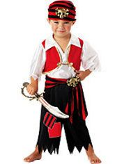 Great kids pirate costume