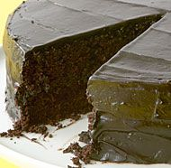 Chocolate-Beet Layer Cake