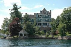 Private Island mansion, St. Lawrence, Thousand Islands