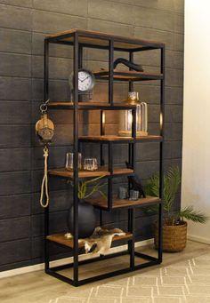 Welded Furniture, Industrial Design Furniture, Iron Furniture, Home Decor Furniture, Furniture Plans, Furniture Design, Diy Bedroom Decor, Living Room Decor, Muebles Living