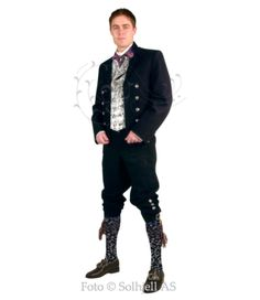 Nordland/Troms herrebunad (man's costume)