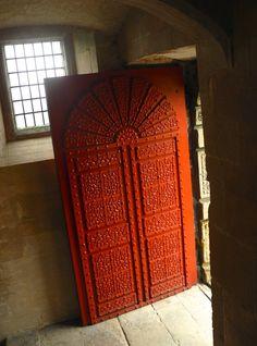 Castle. Red door