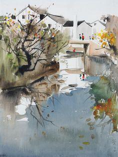 Wu Guanzhong   Wu Guanzhong « Andrew James Art