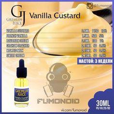 Gremlin Juice, Vanilla Custard