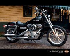 The Harley Davidson - Dyna Super Glide  #harley #motorcyle