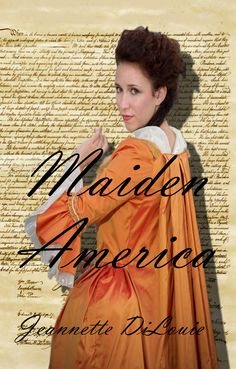 Here's the front cover of Maiden America! Not to sound egotistical since I designed it and all, but I kinda love it. :-)