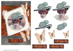 Butterfly Babe - CUP735371_16808 | Craftsuprint