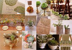 succulents ideas | Succulent Wedding Theme Ideas: Bouquets, Decor & Favors | Confetti ...